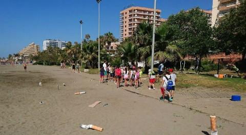 Benalmádena lanza campaña concienciar limpieza playas