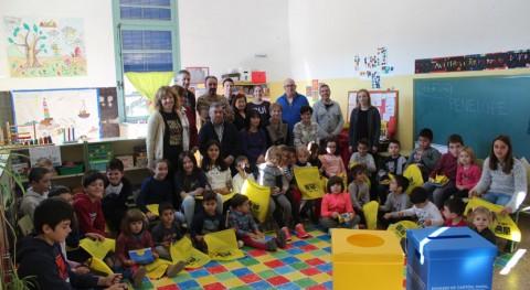 Más 1.600 escolares monegrinos se conciencian importancia reciclaje envases