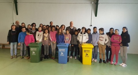 Córdoba pone marcha campaña reciclaje escolares provincia