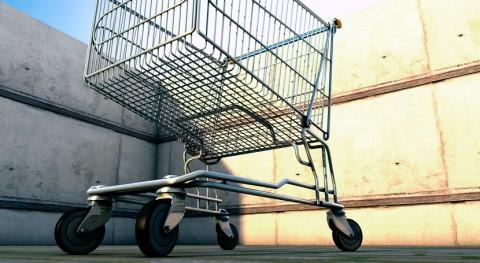 carros supermercado proliferan arroyo Gallegos