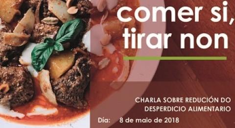 "campaña ""Comer sí, tirar no"" llega Monforte Lemos mano Sogama"