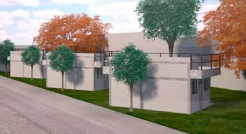 Casas futuro ecotecnologías elaboradas partir plásticos, cerámicos y fibras