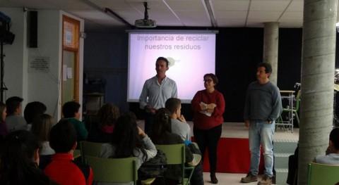 centros educativos Ciudad Real reciben charlas reciclaje residuos