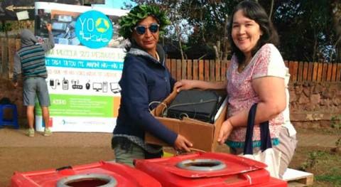 Chilenter retira 5 toneladas residuos electrónicos Isla Pascua