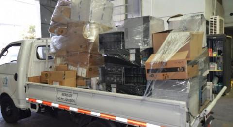 Chilenter da vida útil 12 toneladas residuos electrónicos entregados Poder Judicial