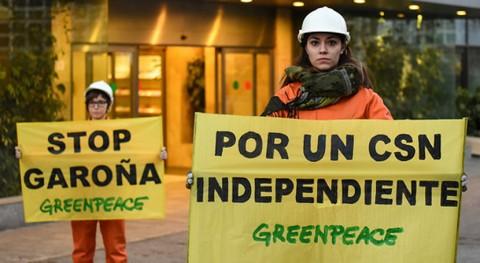 Greenpeace reclama independencia CSN vistas al Plan Gestión Residuos Nucleares