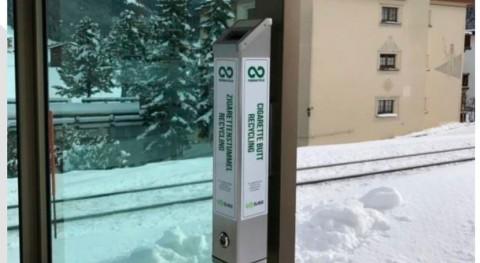 Davos, sede Foro Económico Mundial, es primera ciudad suiza reciclar colillas tabaco