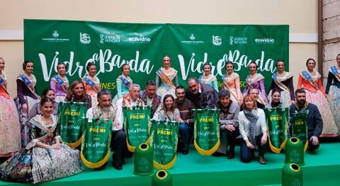 300 comisiones falleras participan recogida envases vidrio Valencia