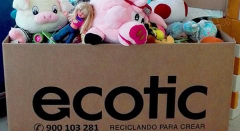 Comparte y Recicla: 130 toneladas juguetes hacen mágica Navidad muchos niños