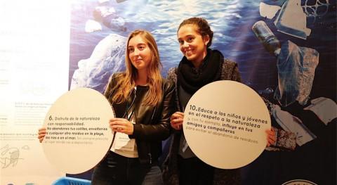 Compromiso y acción mostrar problema basuras marinas Conama Local València 2017