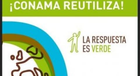 Broche final campaña ¡Conama Reutiliza! reutilización ordenadores desechados como residuos