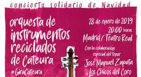 Orquesta Instrumentos Reciclados Cateura dará bienvenida al Año Nuevo