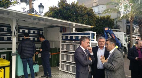 ecoparque móvil Consorcio Vega Baja Sostenible ayudará al reciclaje diferentes residuos