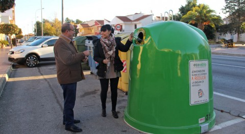 Puerto Lumbreras estrena 34 nuevos contenedores fomentar reciclaje vidrio
