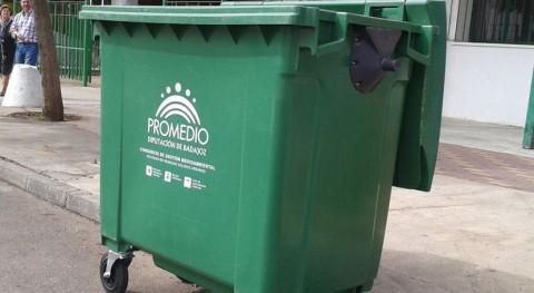 160 contenedores y dispositivo especial recogida refuerzan limpieza feria Zafra