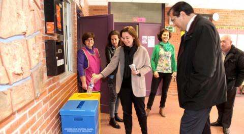 Dos contenedores cada colegio Alcobendas impulsarán reciclaje