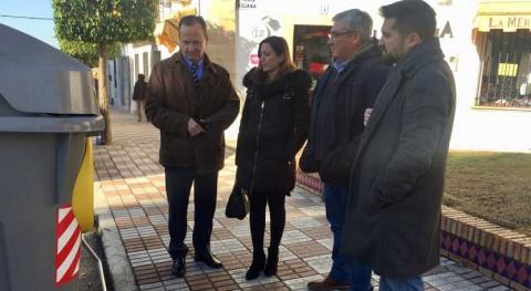 Consorcio Guadiel incorpora contenedores personas movilidad reducida