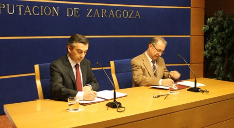 Diputación Zaragoza participará dos millones euros financiación sellado vertedero Torrecilla Valmadrid