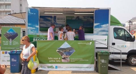 campaña gallega reciclaje llega Coristanco y Trazo