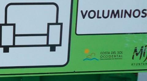 Mancomunidad Costa Sol Occidental mejora señalización Puntos Limpios
