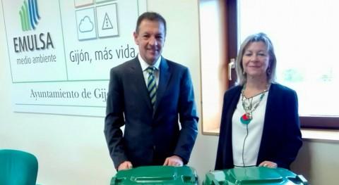 Gijón estrena contenedores reciclaje cápsulas café