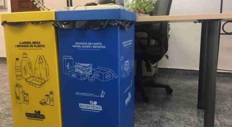 Ayuntamiento Dénia instala 66 puntos recogida selectiva dependencias municipales