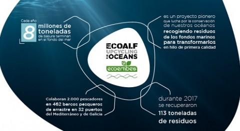 Ecoembes y Fundación Ecoalf recogieron 113 toneladas residuos marinos 2017
