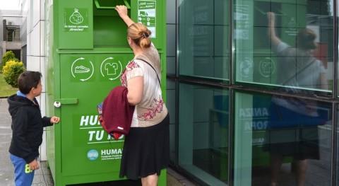 Día Mundial Reciclaje: Llamada mayor recuperación ropa fuera uso Galicia