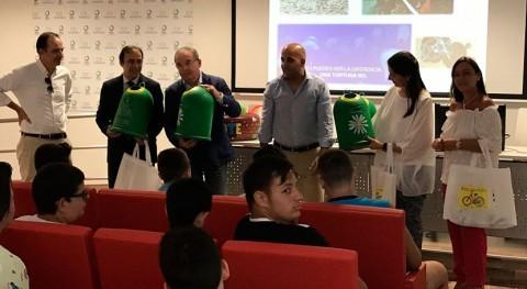 50 escolares aprenden reciclaje y protección medio ambiente CIR Valsequillo
