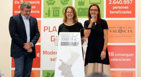 Inversión 1,2 millones mejorar recogida selectiva 5 consorcios Valencia