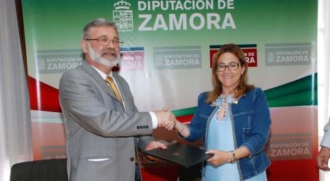 Diputación Zamora y ERP firman convenio recogida pilas