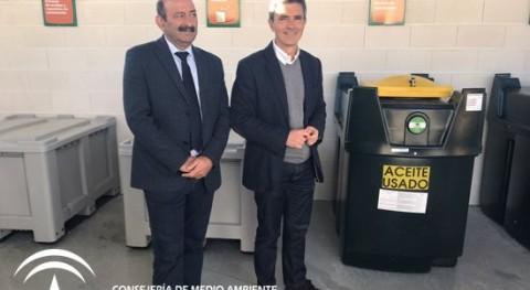 Algodonales estrena nuevo punto limpio recogida residuos
