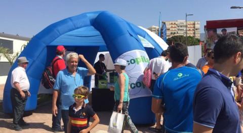 Ecija, cabeza Ayuntamientos más activos recogida pilas durante Vuelta
