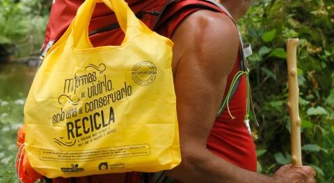 Ecoembes impulsa Camino Santiago concienciado reciclaje y libre basuraleza
