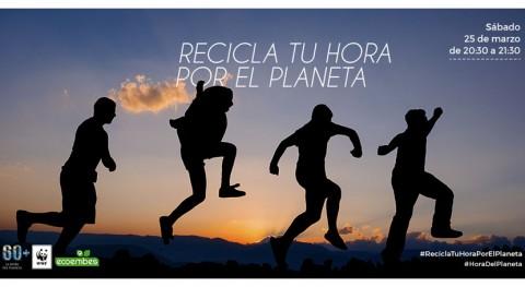 "Ecoembes se suma nuevo "" Hora Planeta"" combatir cambio climático"
