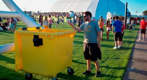 Ecoembes recicla más 370.000 kg envases principales citas musicales país