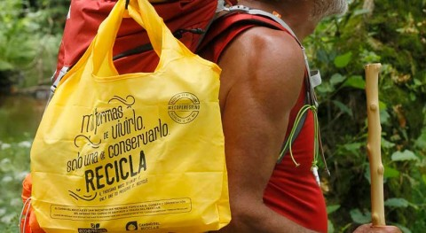campaña 'Camino reciclaje' Ecoembes promueve reciclaje Camino Santiago