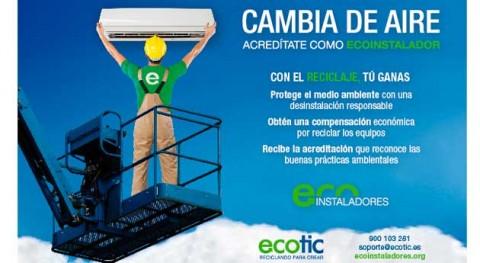 Ecoinstaladores sigue sumando instaladores comprometidos reciclaje y medio ambiente
