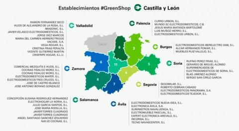Castilla y León, escenario programa reciclaje electrónico #GreenShop Ecolec