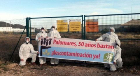Ecologistas demanda al CSN contaminación radiactiva Palomares