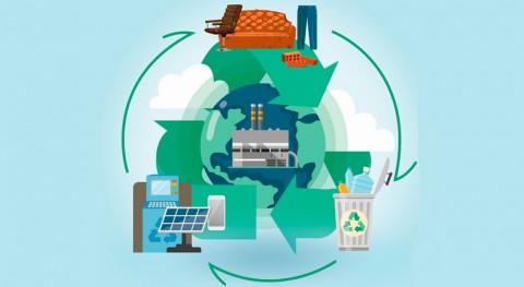 Innovaciones economía circular aplicadas gestión residuos industriales y urbanos