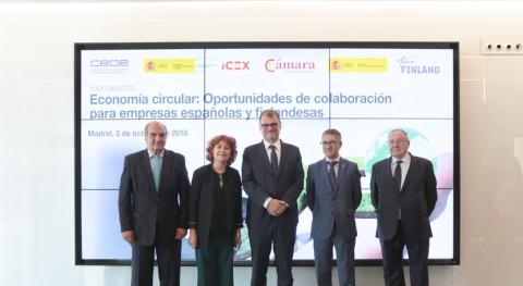 Economía Circular centra encuentro ICEX empresas españolas y finlandesas