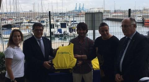 64 clubes y escuelas náuticas toda España reciclan 1.100 kilos pilas este verano