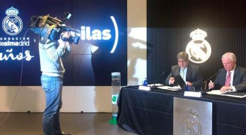 Ecopilas renueva convenio Fundación Real Madrid