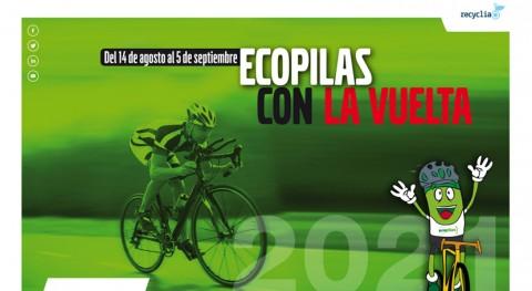 fundación Ecopilas prevé recoger 2.000 kilos pilas usadas durante Vuelta España 2021