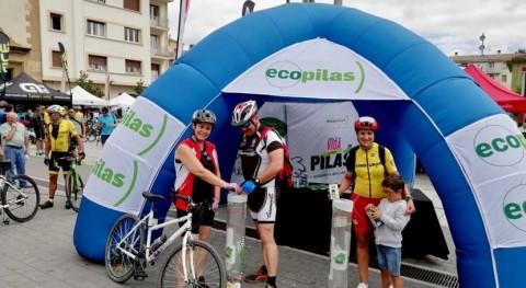 fundación Ecopilas promueve reciclaje coincidiendo descenso Sella