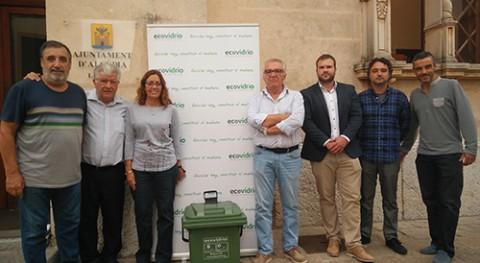 Impulso al reciclaje vidrio restaurantes Alcúdia