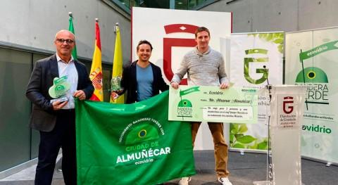 Almuñécar y Marbella, Bandera Verde Ecovidrio recogida vidrio durante verano