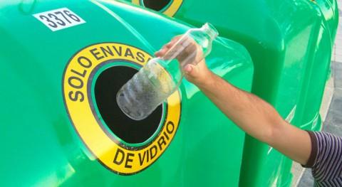 recogida selectiva través contenedor verde aumentó casi 5% 2017