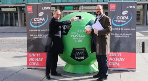 Ecovidrio se convierte patrocinador ambiental Liga Nacional Fútbol Sala